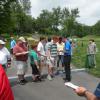 Journalism students attend Memorial Tournament field trip