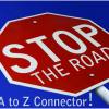 The A to Z road block